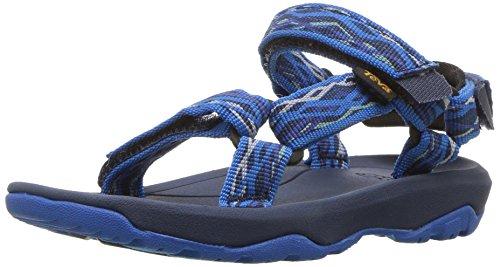 Teva Boy's Y Hurricane XLT 2 Sport Sandal, Delmar Blue, 5 M US Big Kid