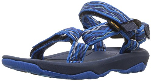 Teva Boy's Y Hurricane XLT 2 Sport Sandal, Delmar Blue, 4 M US Big Kid