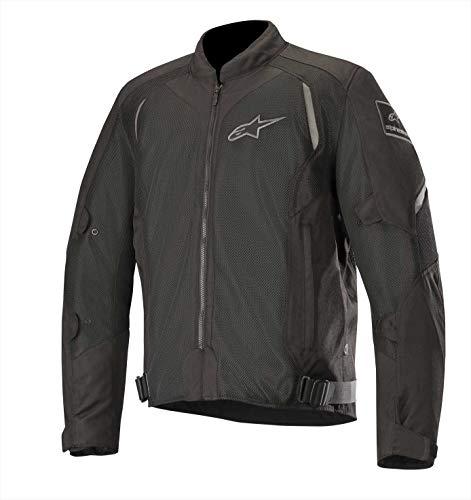 Wake Air Textile Street Motorcycle Jacket (Black Black)