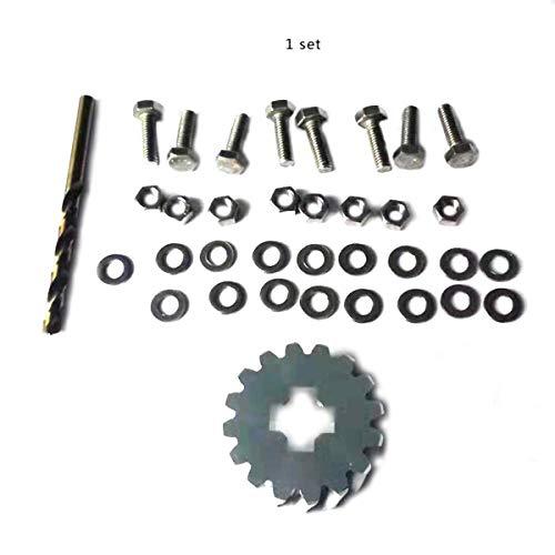 Greatangle Para Ford Galaxy Seat Alhambra VW Sharan Kit de reparación de Engranaje de Soporte de Rueda de Repuesto
