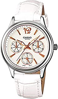 CASIO 卡西欧 LTP-2085D LTP-2085L-礼物送女友时尚指针女士手表 防水石英女表
