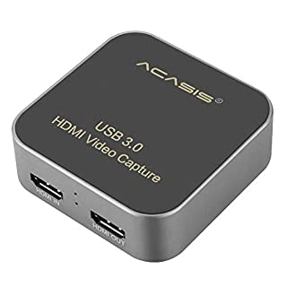Acasis AC-HDCP USB 3.0 HDMI to Type-C Capture Card 1080P HD Video Box Drive-Free for TV PC PS4 Game Live Stream for Windows Linux Os X (B081SZ47X7) | Amazon price tracker / tracking, Amazon price history charts, Amazon price watches, Amazon price drop alerts