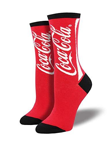 Socksmith Coca Cola 9-11 (Women's Shoe Sizes 5-10.5)