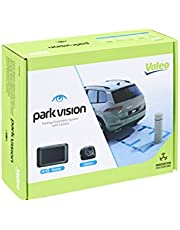 Valeo parkvision, pomoc przy parkowaniu z kamerą i wyświetlaczem TFT do montażu z tyłu, nr art. 632210, czarny