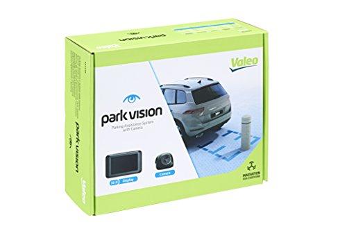 Valeo parkvision, Einparkhilfe mit Kamera und TFT-Display zum Heckeinbau, Artikelnr. 632210, Schwarz