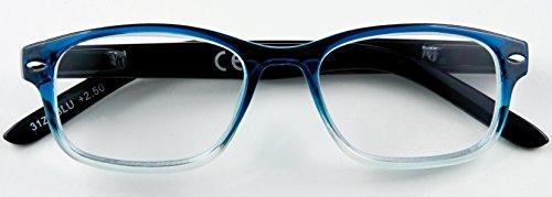 Zippo Lesebrille 31Z-B1, blue, 2 Dioptrien