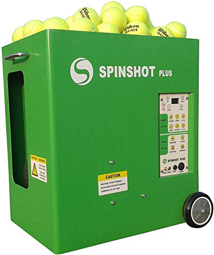 Spinshot Plus Tennis Ball Machine (Best Model for an Intermediate Player)
