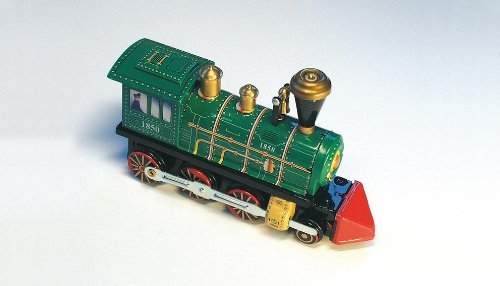 Locomotive en métal - jouets nostalgiques