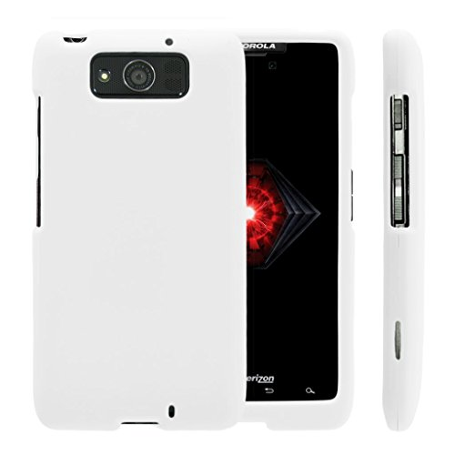 Compatible with Motorola Droid Maxx Case   Droid Ultra Case [Slim Duo] Ultra Slim Matte Hard 2 Piece Cover Protector on White by TurtleArmor - White
