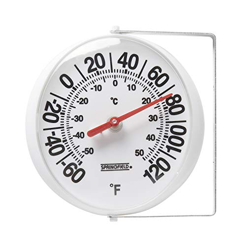 Springfield Big and Bold Thermometer with Mounting Bracket (5.25-Inch) -  Lifetime Brands Inc., 90100