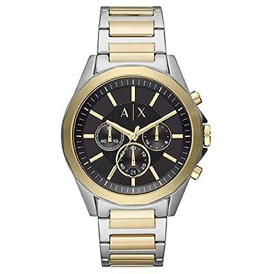 Armani Exchange Herren Chronograph Quarz Uhr mit Edelstahl Armband AX2617 zum TOP Preis