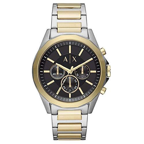Armani Exchange Reloj Cronógrafo para Hombre de Cuarzo con Correa en Acero Inoxidable AX2617