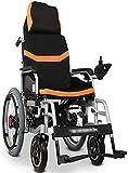 Silla de ruedas eléctrica / Ligera Silla de ruedas eléctrica en silla de ruedas, silla de ruedas eléctrica plegable, silla de alimentación de la unidad, silla de ruedas eléctrica portátil, velocidad a