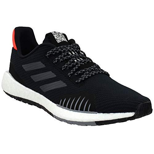 adidas Men's PulseBoost HD Winter Running Shoes Core Black/Grey Six/Solar Red 11