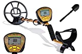 NALANDA 18KHz Metal Detector with All-Metal, Discriminate, Custom and Memory Mode,Pinpoint, Stable Detection Depth, Automatic Tuning, Variable Tones(Extra Foldable Shovel,Headphone)
