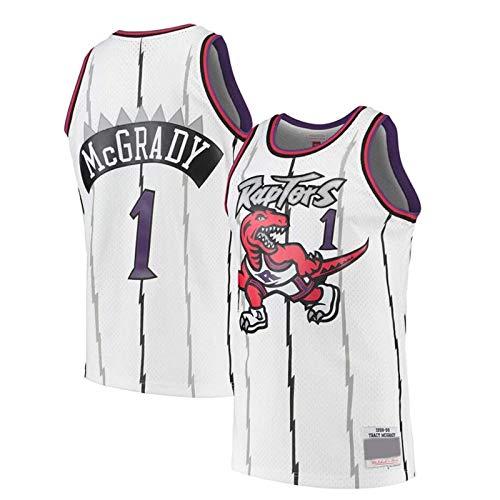 TTBBZ Maglia NBA 15# Carter 1# McGrady Canotta Sportiva da Basket Maglietta Toronto Raptors