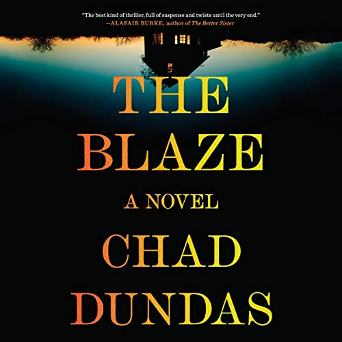 The Blaze audiobook cover art
