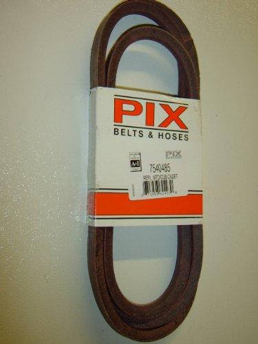 7540485, 9540485, ceinture de remplacement fabriqué avec Kevlar. pour MTD, Cub Cadet, Troy Bilt, Blanc,