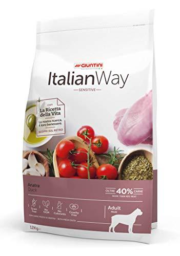 Italian Way Cibo per Cani Sensitive Anatra - Adult - Maxi - 12 kg