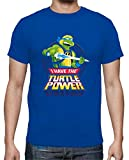 Camiseta de NIÑOS Tortugas Ninja Miguel Angel Donatello Raphael...