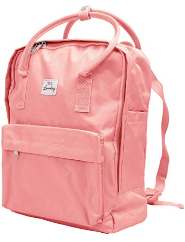 Tokyo Laundry Claremont Classic Canvas Backpack Pastel Pink