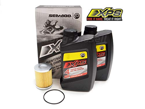Sea-Doo 4T 5W-40 Synthetic Blend Oil Change Kit for Rotax 900 ACE engine