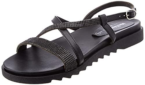 Maria Mare 66516, Damen Kleid-Schuhe, schwarz - Kid Negro - Größe: 36