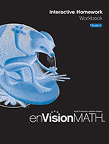 enVision Math: Interactive Homework Workbook, Grade 6