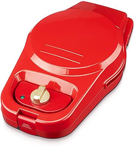 Hogar Timer Waffle Maker - Sandwich Breakfast Maker, 330x230x110mm, 800W Maker de pan de alto potencia, calefacción de doble cara, horneado antiadherente