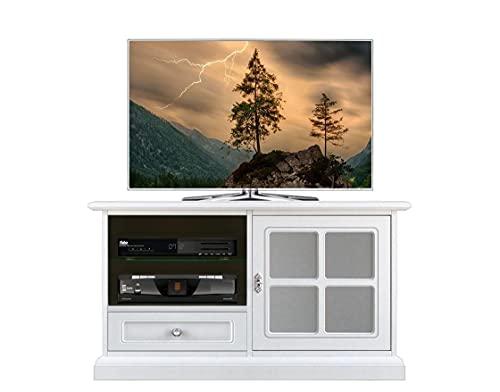 Arteferretto Meuble TV Porte vitrée