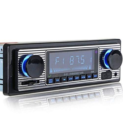 WUBAILI Sistemas De Audio Estéreo Multimedia para Automóvil: Audio Bluetooth Y Llamadas Manos Libres, Reproductor De MP3, Puerto USB, Entrada AUX, Receptor De Radio Am/FM, Sin CD/DVD