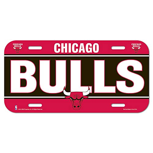 Wincraft NBA Chicago Bulls License Plate