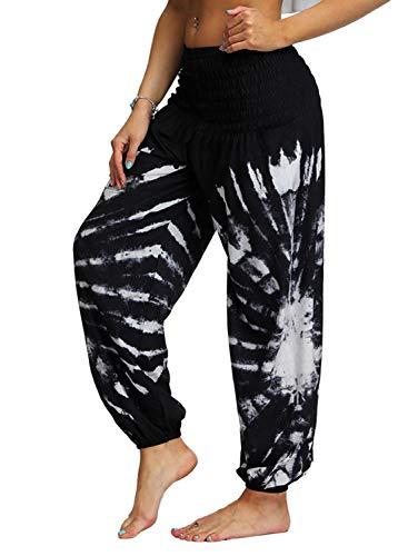gosopin womens printed wide leg