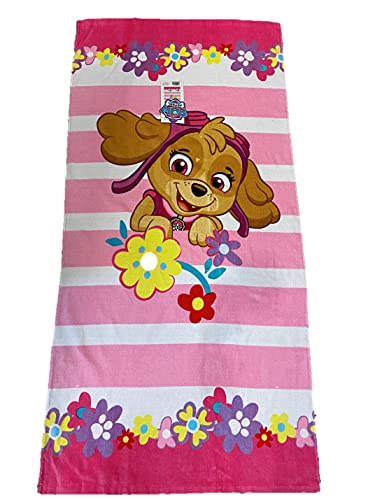 Nick Jr. Paw Patrol Chase The Police Dog to The Rescue - Poncho con Capucha