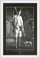 ポスター ステューシー ステューシー20th Anniversary プリント05 額装品 ウッドハイグレードフレーム