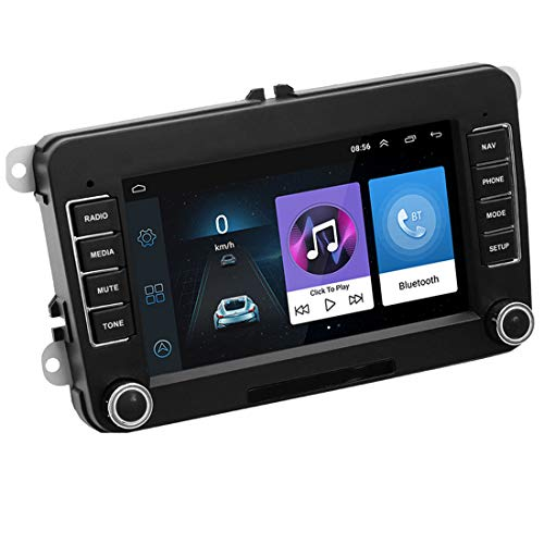 GOFORJUMP 2 DIN Android 7'GPS Navigation Car Stereo Radio Media Player para Bora Golf V/W Polo V/olkswagen Passat B6 B7 Touran