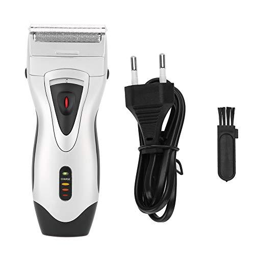 Afeitadora de barba eléctrica, recortadora de barba, recargable para uso en salones, peluquerías, uso en viajes, uso doméstico