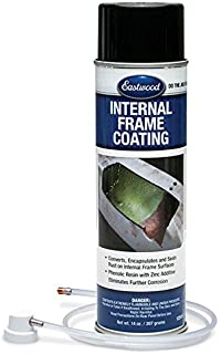 Eastwood Internal Chassis Frame Green Coating 14 oz with Spray Nozzle Remove Rust Corrosion