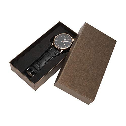 Reloj de hombre, reloj de pulsera mecánico automático para hombre, padre