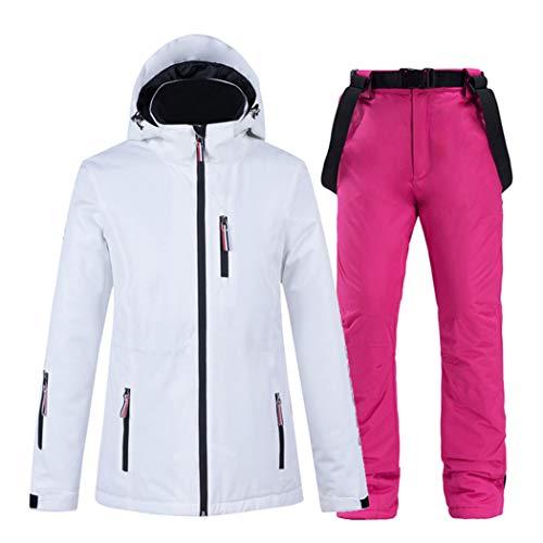 Azastar Frauen Skianzug Tops Und Hosen Set Wasserdicht Winddicht Warmer Winter Schneeanzug Damen Schneeanzüge