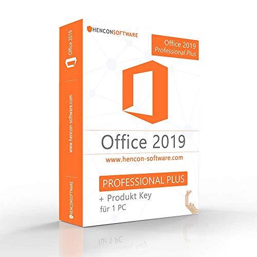 Office 2019 Professional Plus Lizenzschlüssel + 32/64 Bit ISO DVD