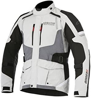 Alpinestars Andes V2 Drystar Men's Street Motorcycle Jackets - Light Gray/Black/Dark Gray / 2X-Large