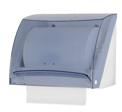 Mar Plast A51840 - Dispenser di asciugamani di carta, trasparente, 218 x 193 x 270 mm