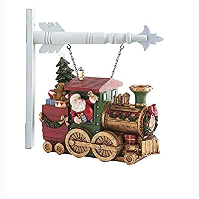 """K&K Interiors 53087A-AR 10.5 Inch Musical LED Toy Train Arrow Replacement, 8.75"""" H x 10.25"""" W, Multi-Color"""