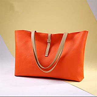 Shoulder Bag SportsShoulder Bag Handbag Handbag Simple Fashion Casual Handbag Clutch (Color : Orange)