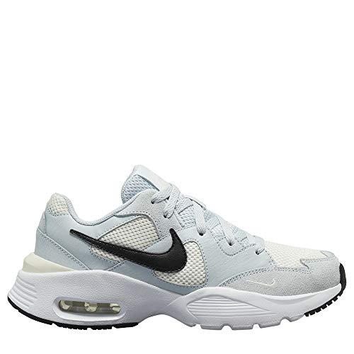 Nike Air MAX Fusion, Zapatillas para Correr Mujer, Aura Black Pale Ivory White, 36 EU