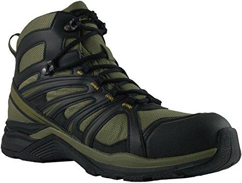 Altama Aboottabad Trail Runner Tactical Combat Boots (Mid Top), Grün (hunter green), 43 EU