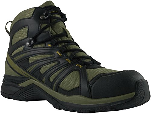 Altama Aboottabad Trail Runner Tactical Mid Top Combat Boot - Hunter Green, Size 8.5W