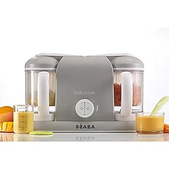 Béaba BABYCOOK SOLO Edición Silver/White - Robot de cocina 4-en-1 ...