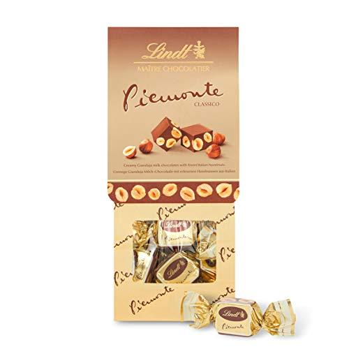 Lindt Piemonte Klassisch, Cremige Gianduja Milchschokolade mit ganzen Haselnüssen aus Italien, 1er Pack (1 x 200 g)